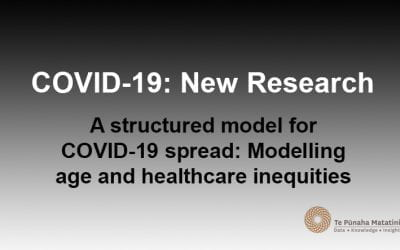 A structured model for COVID-19 spread