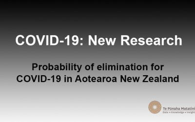 Probability of elimination for COVID-19 in Aotearoa