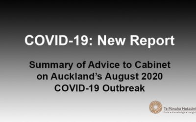 Auckland's August 2020 COVID-19 outbreak – Cabinet advice