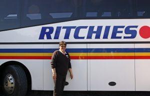 Mandy, the excursion bus driver