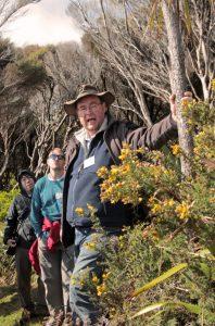 Ulrich Speidel, the excursion tour guide