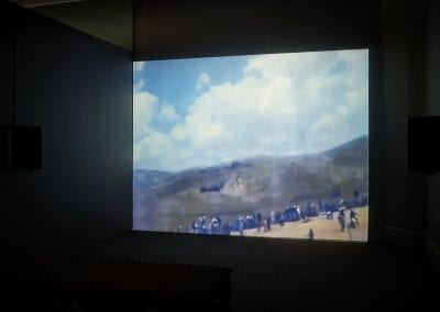Lawrence Abu Hamdan, Language Gulf in the Shouting Valley, 2013. Photograph by Sam Hartnett.