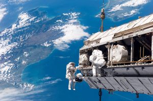 Spacewalk over New Zealand.