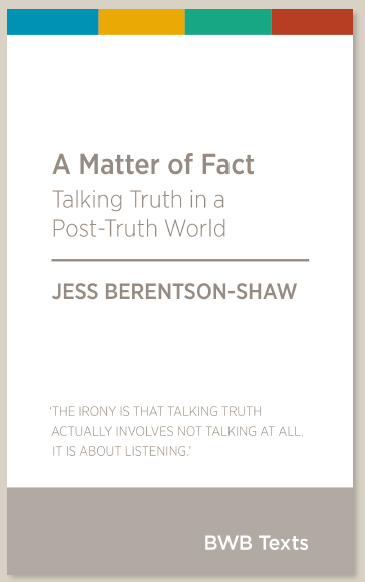 Book Launch: Jess Berentson-Shaw – A Matter of Fact