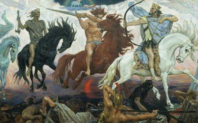 The Four Horsemen, a striking metaphor for neurodegenerative brain diseases