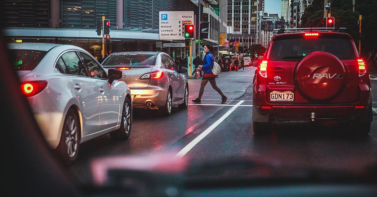Traffic in Wellington