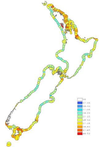Spatial distribution of organismal and habitat biodiversity in our 12-nautical mile territorial seas