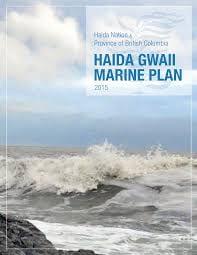 Cover of the Haida Gwaii Marine Plan