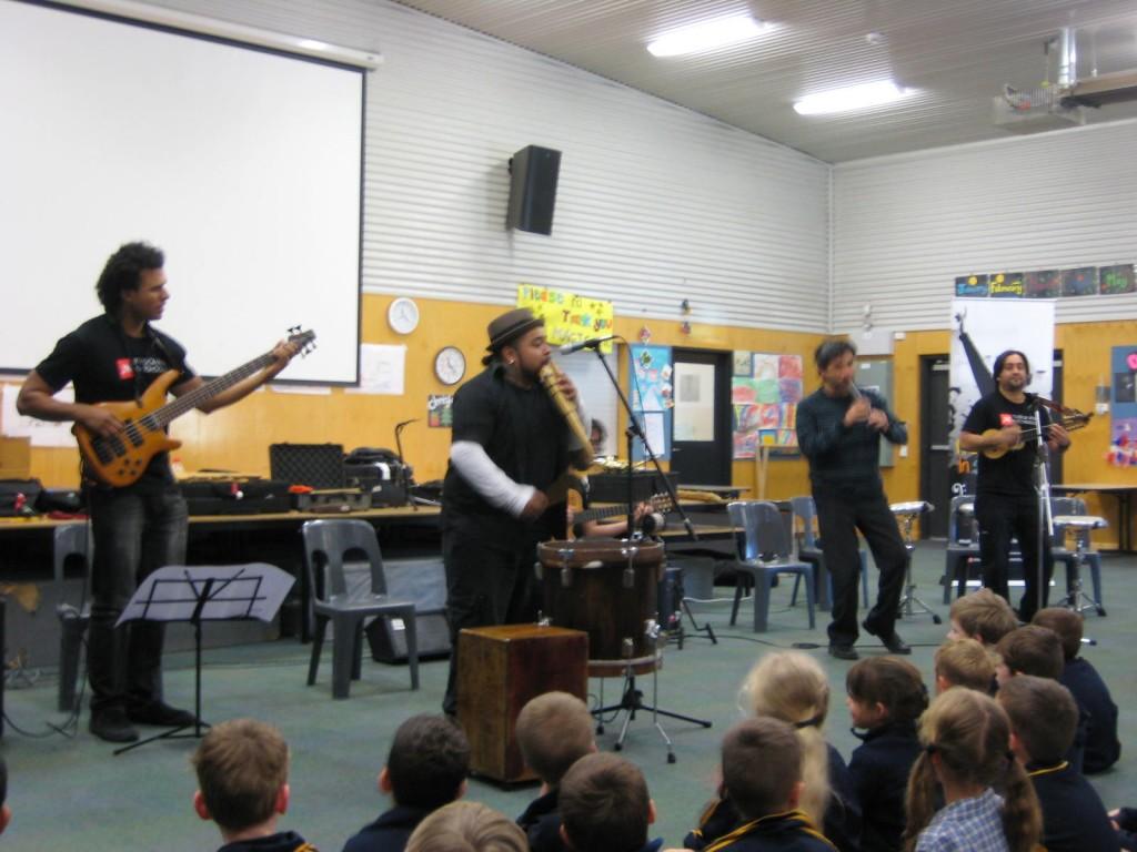 Tigramuna Musical Performance