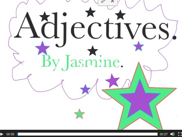 Adjective Slideshows