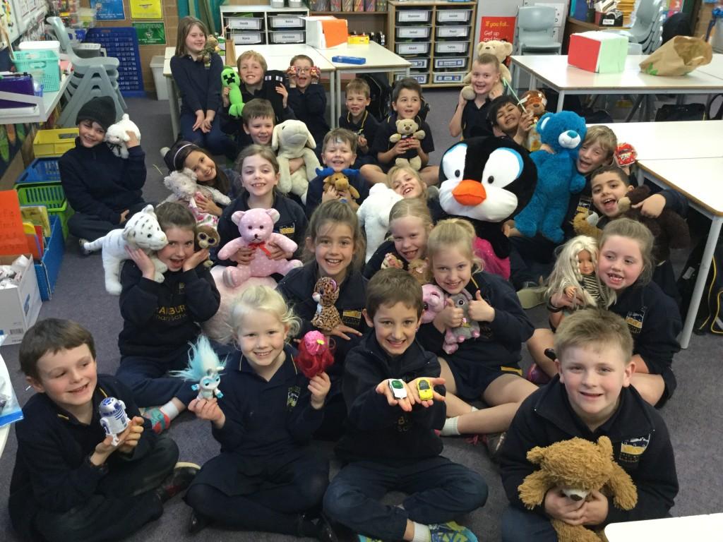 Teddies and Toys Class Reward