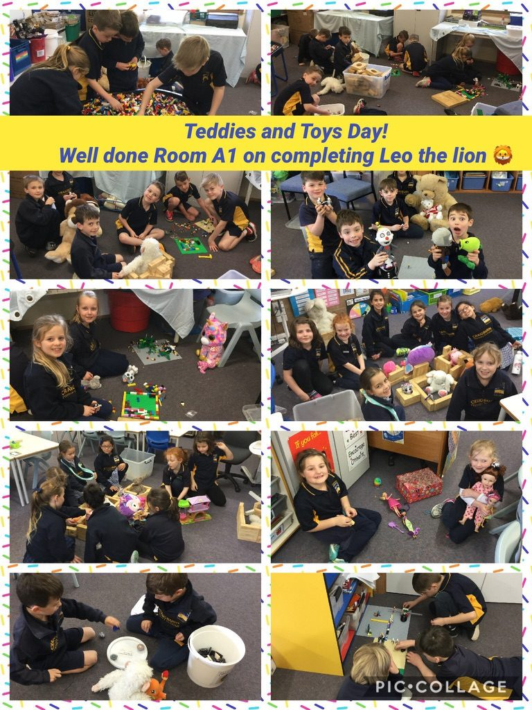 Teddies and Toys Class Reward