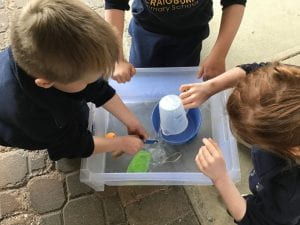 Receptions testing sinking and floating