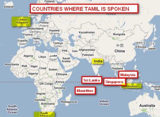 tamil map