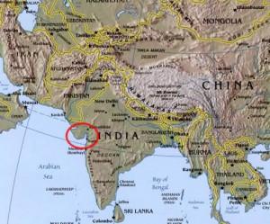 gujarati map