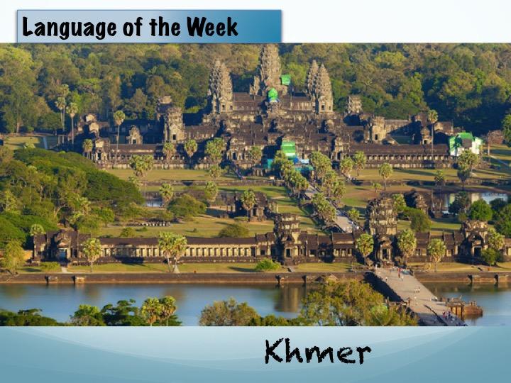 Language of the week