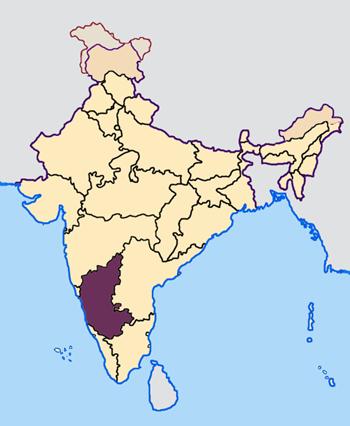 Karnataka_in_India