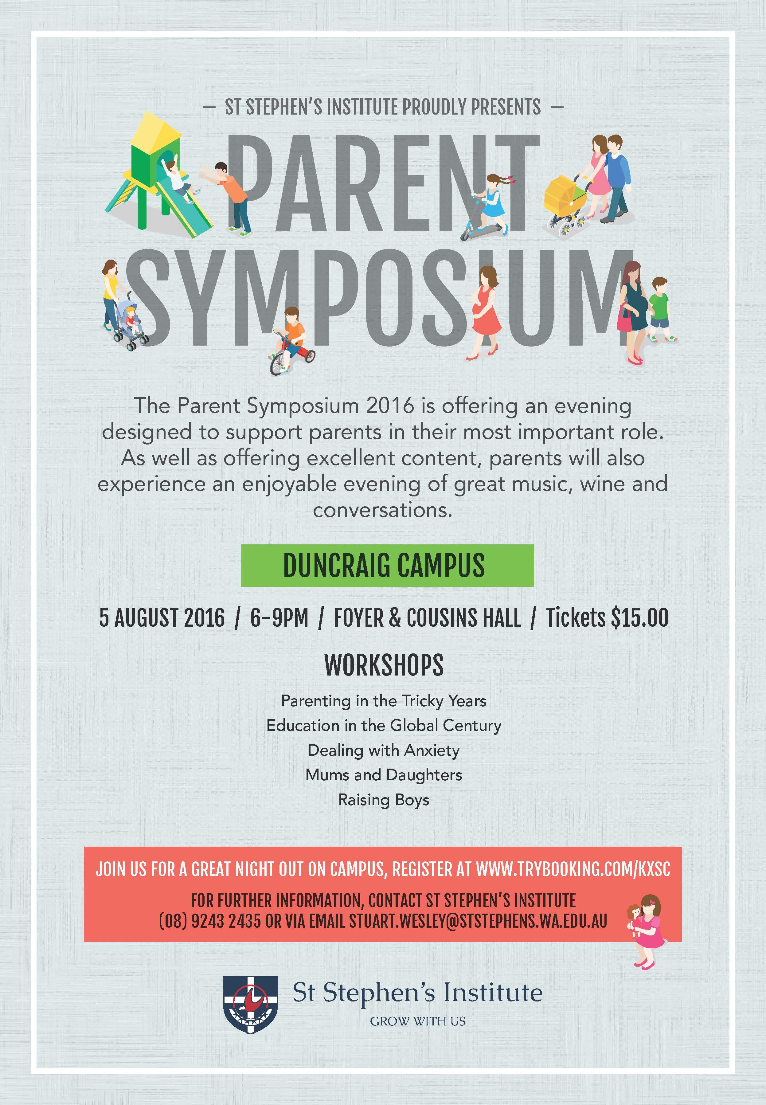 SSS Parent Symposium 2016 A5 Flyer AC1