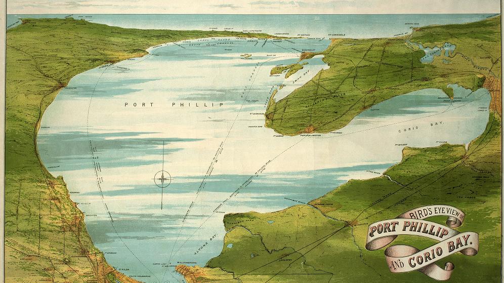 Port Phillip Bay Map