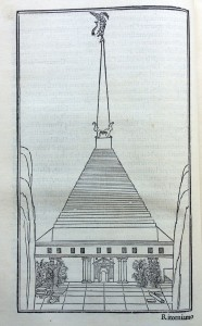 The pyramid with obelisk (1499)