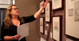 Exhibition curator explores maritime art in the show.