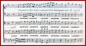 Quartet from Grétry's Lucile, p. 34 (vocal parts only)