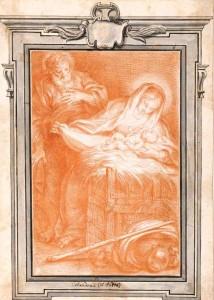 Giacinto Calandrucci, Madonna with the Infant (c.1670)