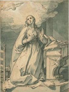 Abraham Bloemaert, The Annunciation (c.1625-35)