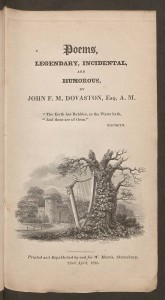 Dovaston - title page