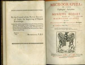 Micrographia - title page