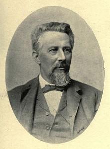 Edward Dowden portrait