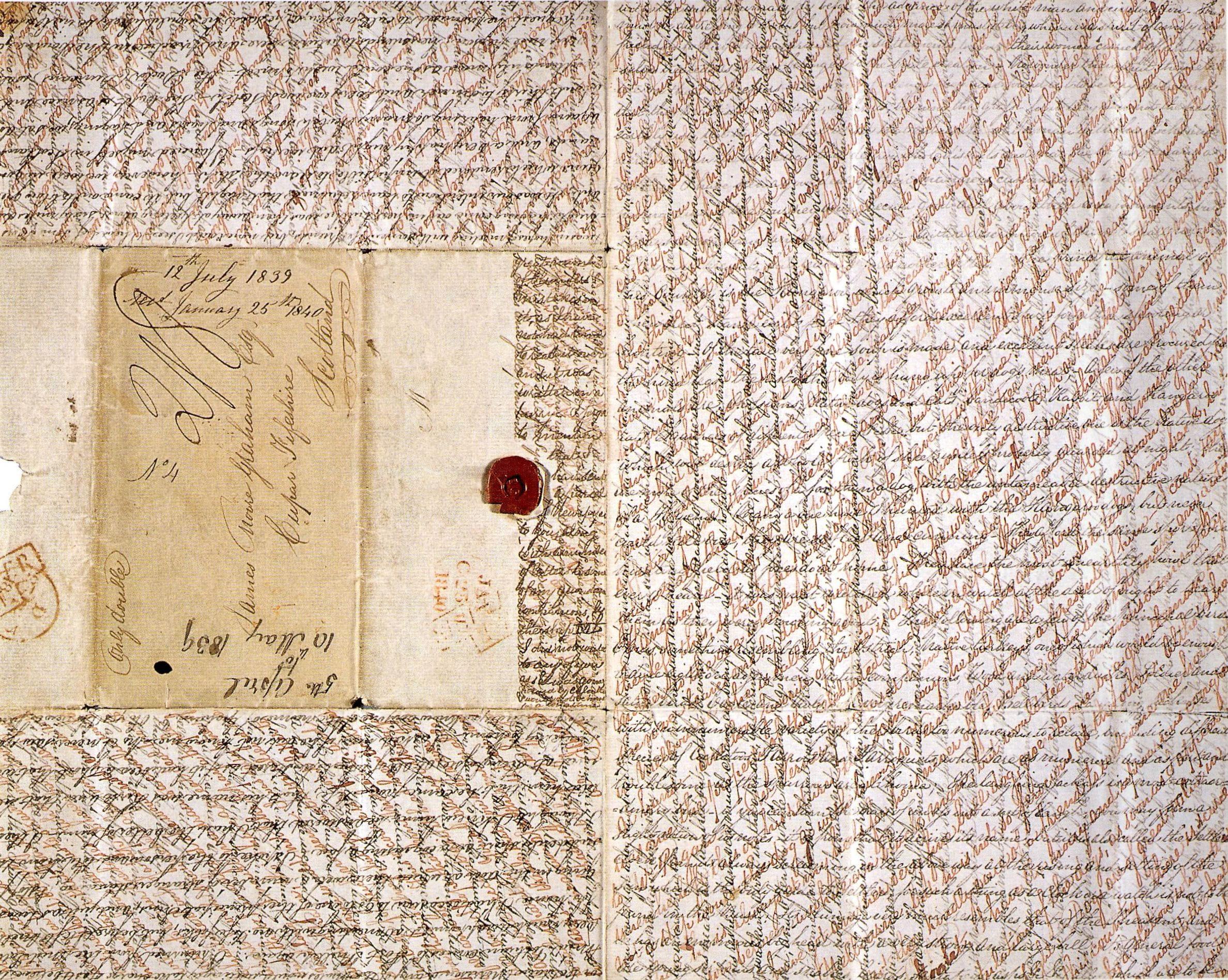 James Graham, overland letter, 12 July 1839