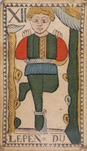 The Hanged Man from the Belgium Tarot