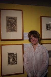 Erin Holder visits Horizon lines exhibition.