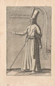 Unknown artist, Sannissaire ou jannissarler soudart a pied