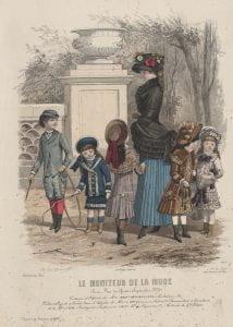 Copy after David Jules, Le moniteur de la mode, (1882)