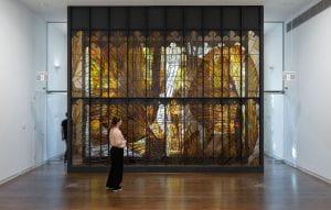 Tom Nicholson, Towards a glass monument 2017-19 (installation photograph).