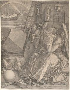 Albrecht Dürer, Melancholia, 1514, engraving.