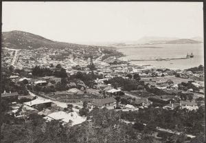 Albany from Mount Melville, Western Australia, 1930
