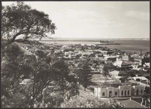 Bunbury Town and Harbour, Western Australia, c1932-1939
