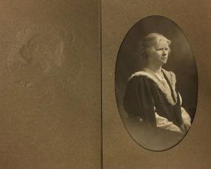 Phyllis Allinson, photograph, Sarony Studios, 1923