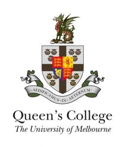 Logo of Queen's College at the University of Melbourne