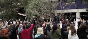 flash mob 550