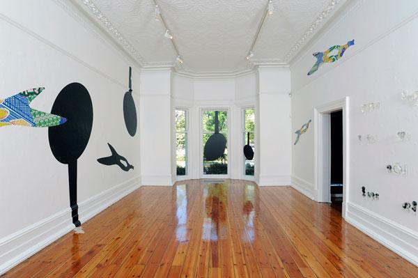 Julie Shiels, Trace #2 – Linden Centre of Contemporary Arts (photo by John Brash)