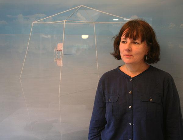 Alumna Jennifer Higgie, at Frieze headquarters in East London.