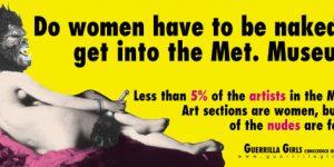 Guerrilla Girls, Get Naked