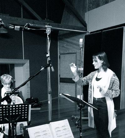 Alumna Lisa Illean conducting