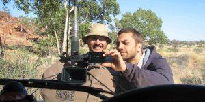 Luke Walker and 'Lasseter's Bones' DOP Adrian Price (GradDipFTV 2005).
