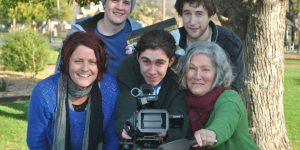 Filmmakers from the Digital Shakespeare project