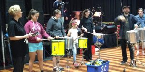 Secondary schools students perform at the Wangaratta Jazz workshop